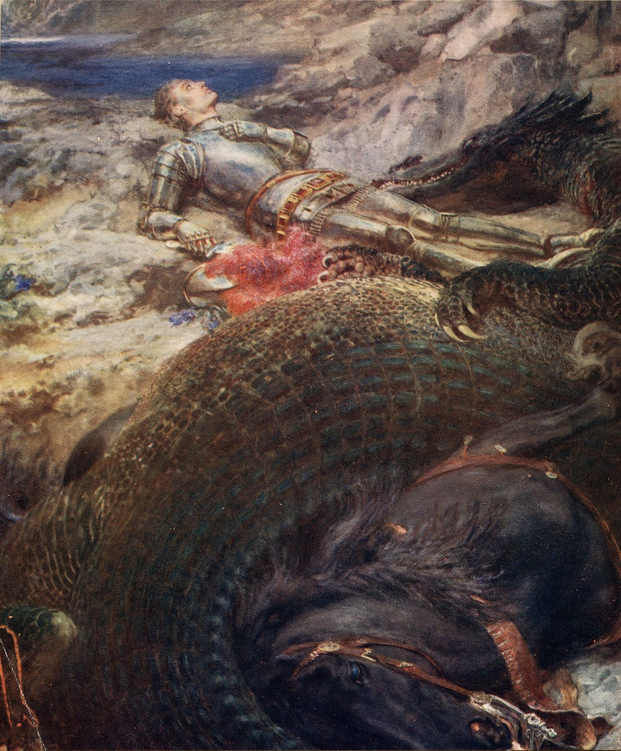 St._George_and_the_Dragon-Briton_Riviere