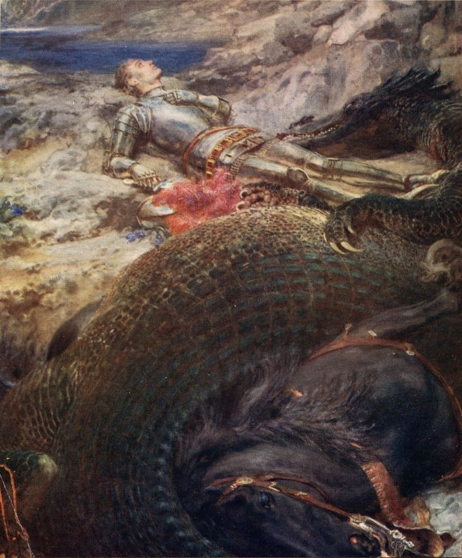 St._George_and_the_Dragon-Briton_Riviere